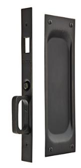 Emtek 2104 Passage Pocket Door Mortise Lock