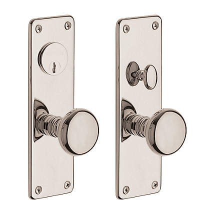 Baldwin 6551 dblc estate reading double cylinder mortise for Baldwin entrance sets