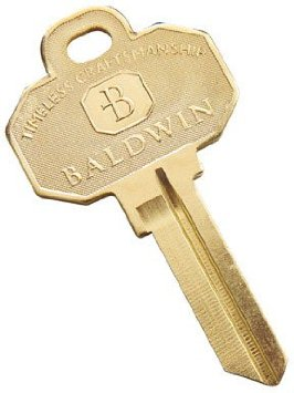 Baldwin 8335 152 5 Pin Key Blank
